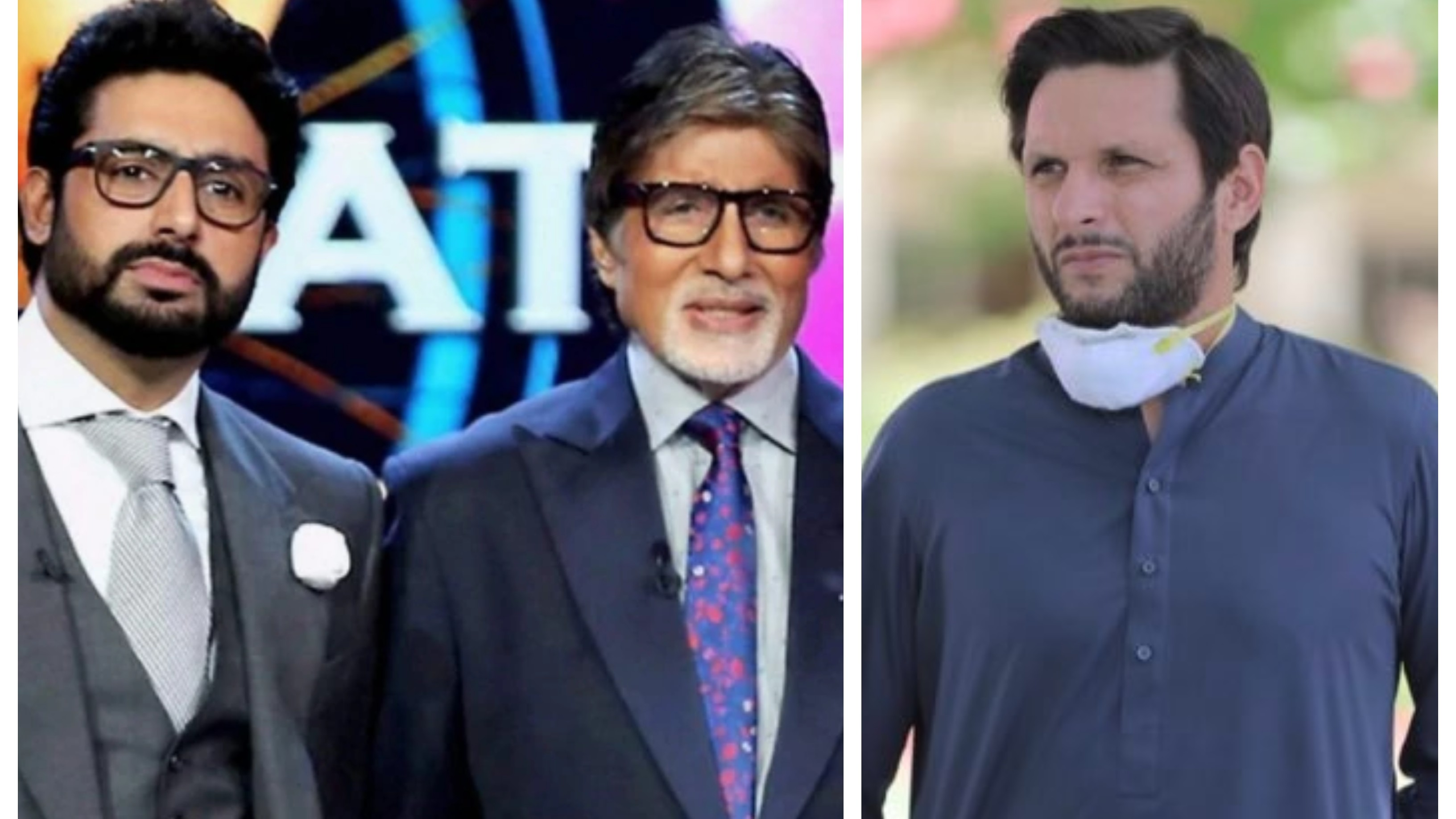 Afridi wishes speedy recovery to Amitabh Bachchan and Abhishek after they test positive for COVID-19