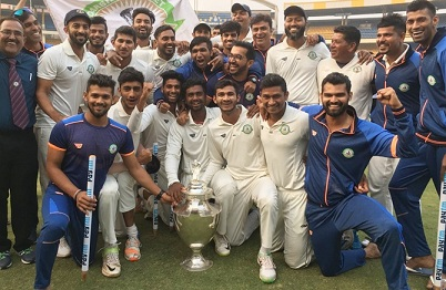Vidarbha defeated 7 times champions Delhi to win their maiden Ranji title