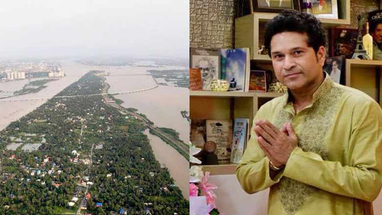 Sachin Tendulkar urges people to help Flood-Hit Kerala