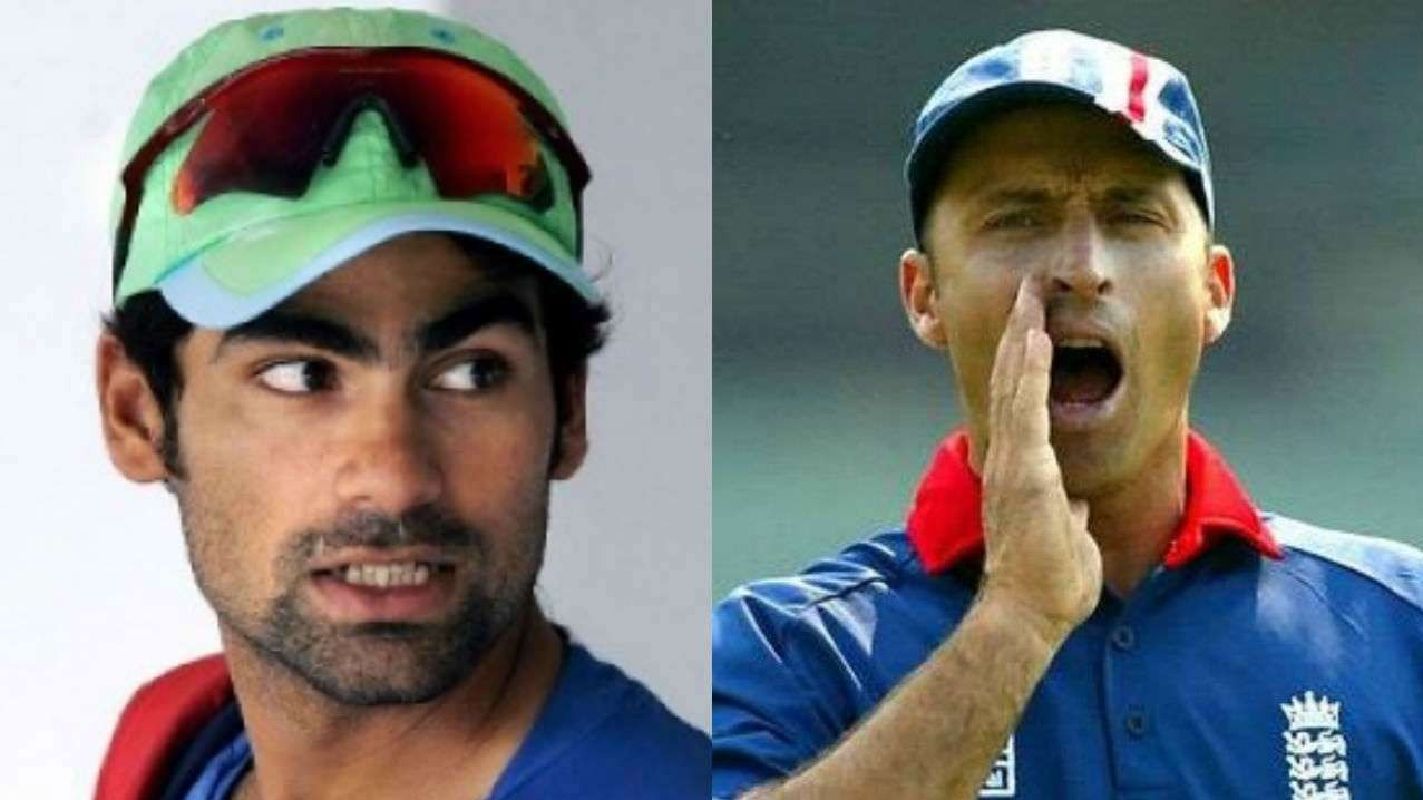 Mohammad Kaif reacts to Nasser Hussain's 'bus driver' sledge during 2002 Natwest Series final
