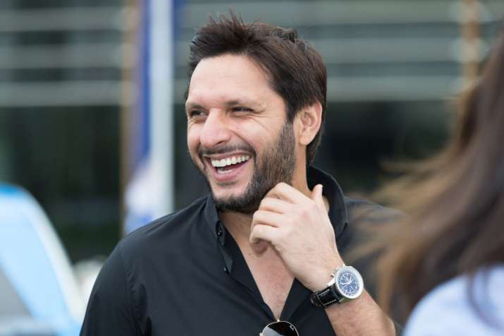 Afridi recently recovered from COVID-19 | AFP