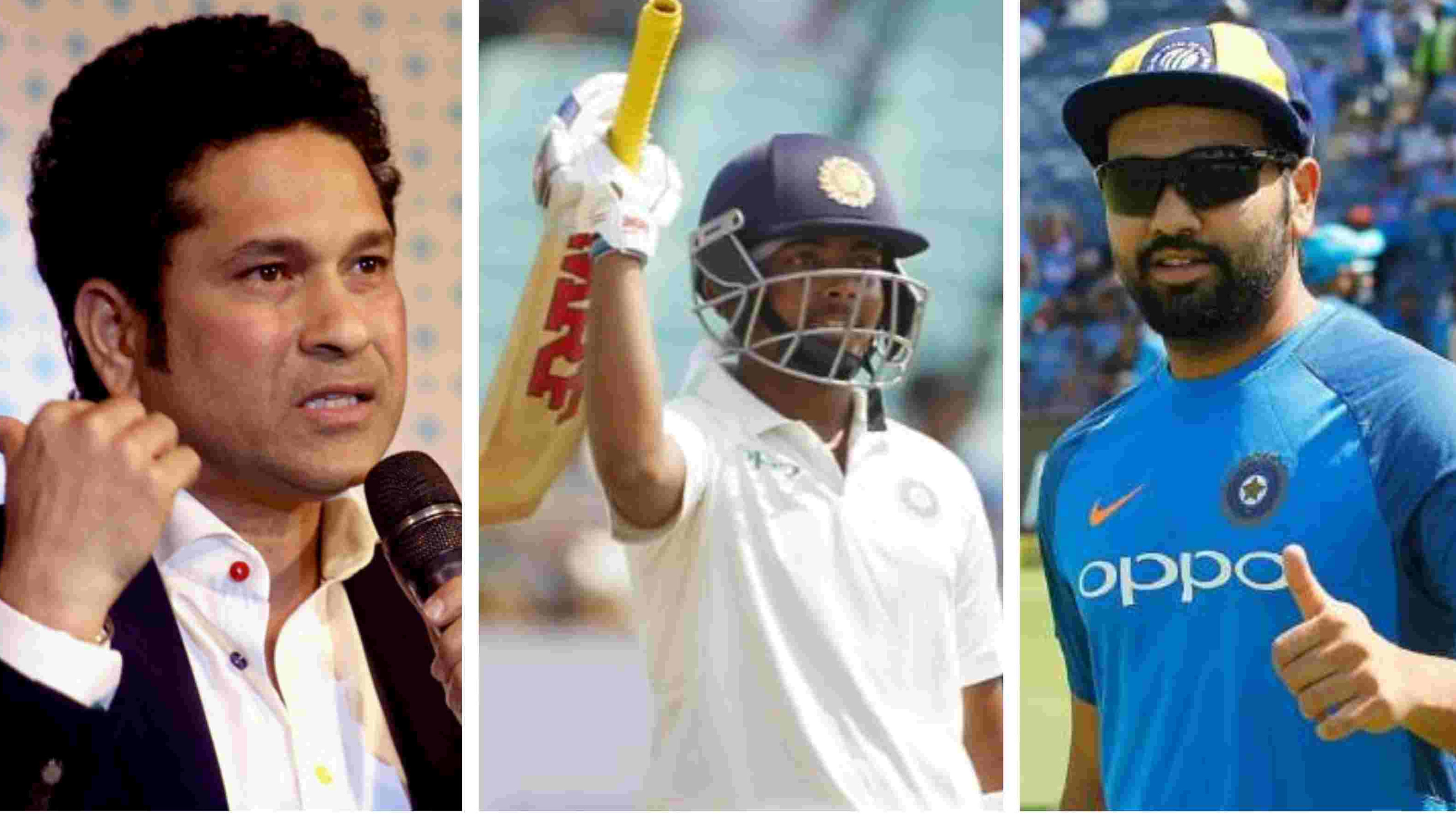 IND v WI 2018: Sachin Tendulkar, Rohit Sharma laud Prithvi Shaw for his maiden Test century on debut