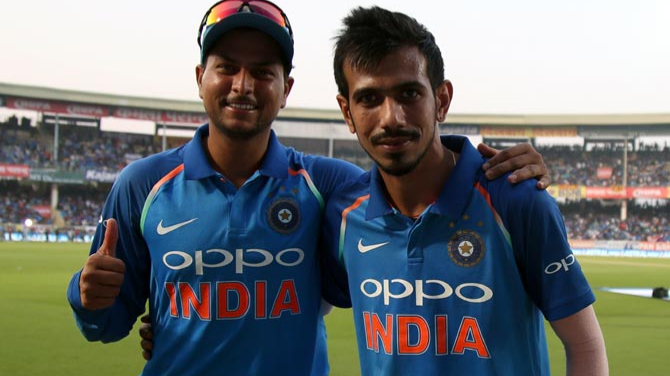 Kuldeep Yadav doesn't feel any sense of competition with fellow spinner Yuzvendra Chahal