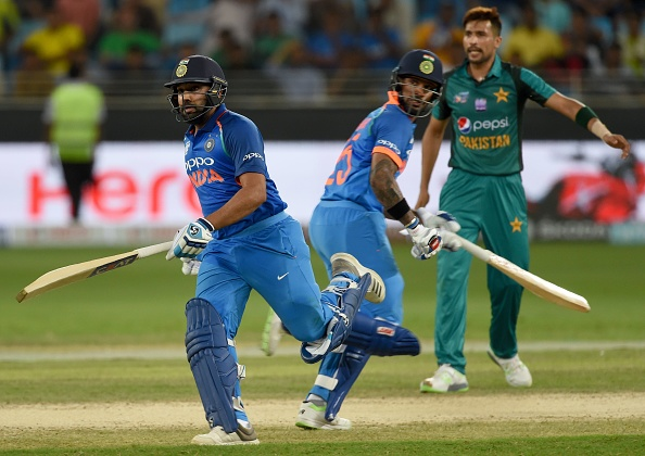 Rohit and Dhawan were in full flow against Pakistan in Dubai | Getty