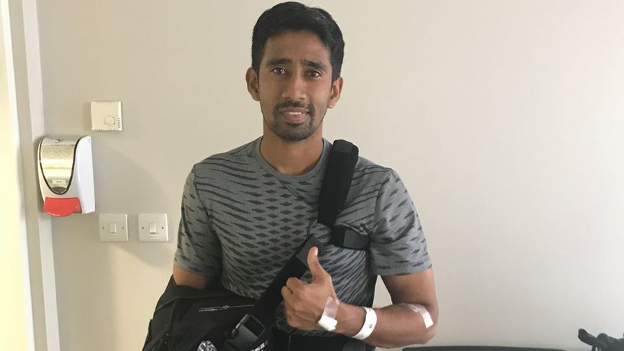 BCCI wishes a speedy recovery to Wriddhiman Saha after surgery in Manchester