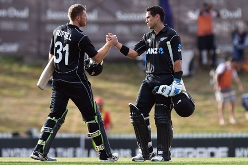Martin Guptill and Ross Taylor | Getty Images
