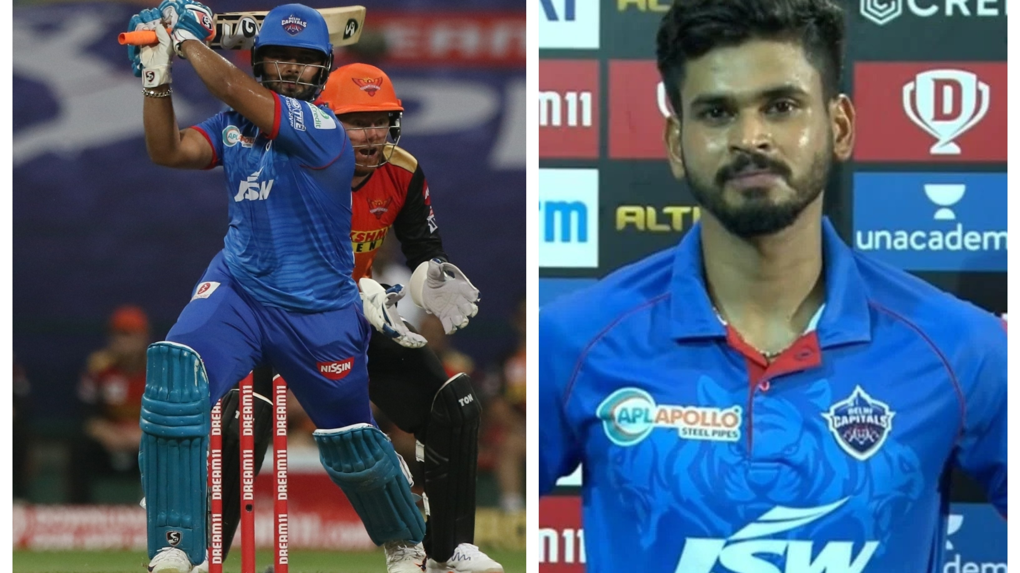 IPL 2020: Injured Rishabh Pant to miss the action for at least a week, confirms Shreyas Iyer