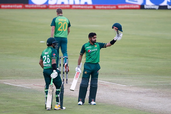 Babar Azam hit a sensational hundred in the first ODI | Getty Images