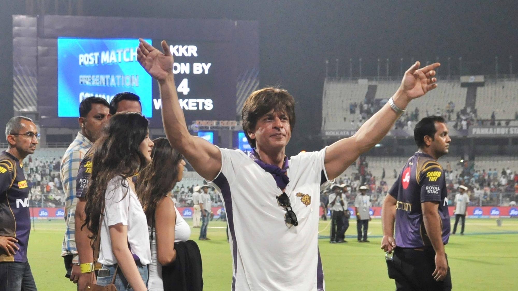 IPL 2018: Eden bow down to SRK amidst Kohli, ABD presence