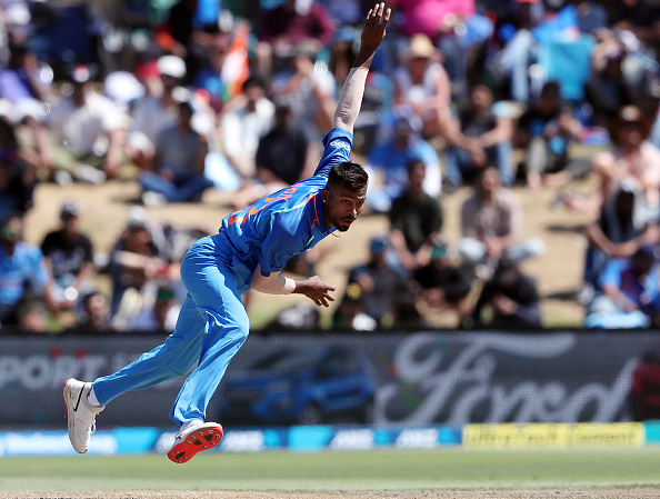 Hardik Pandya returned to international arena with a bang at Bay Oval | Getty Images