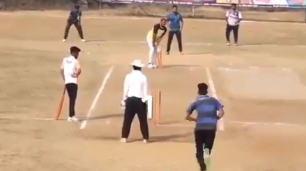 WATCH- Maharashtra team requires 6 runs off 1 ball to win; manages to win with one ball to go in amazing fashion