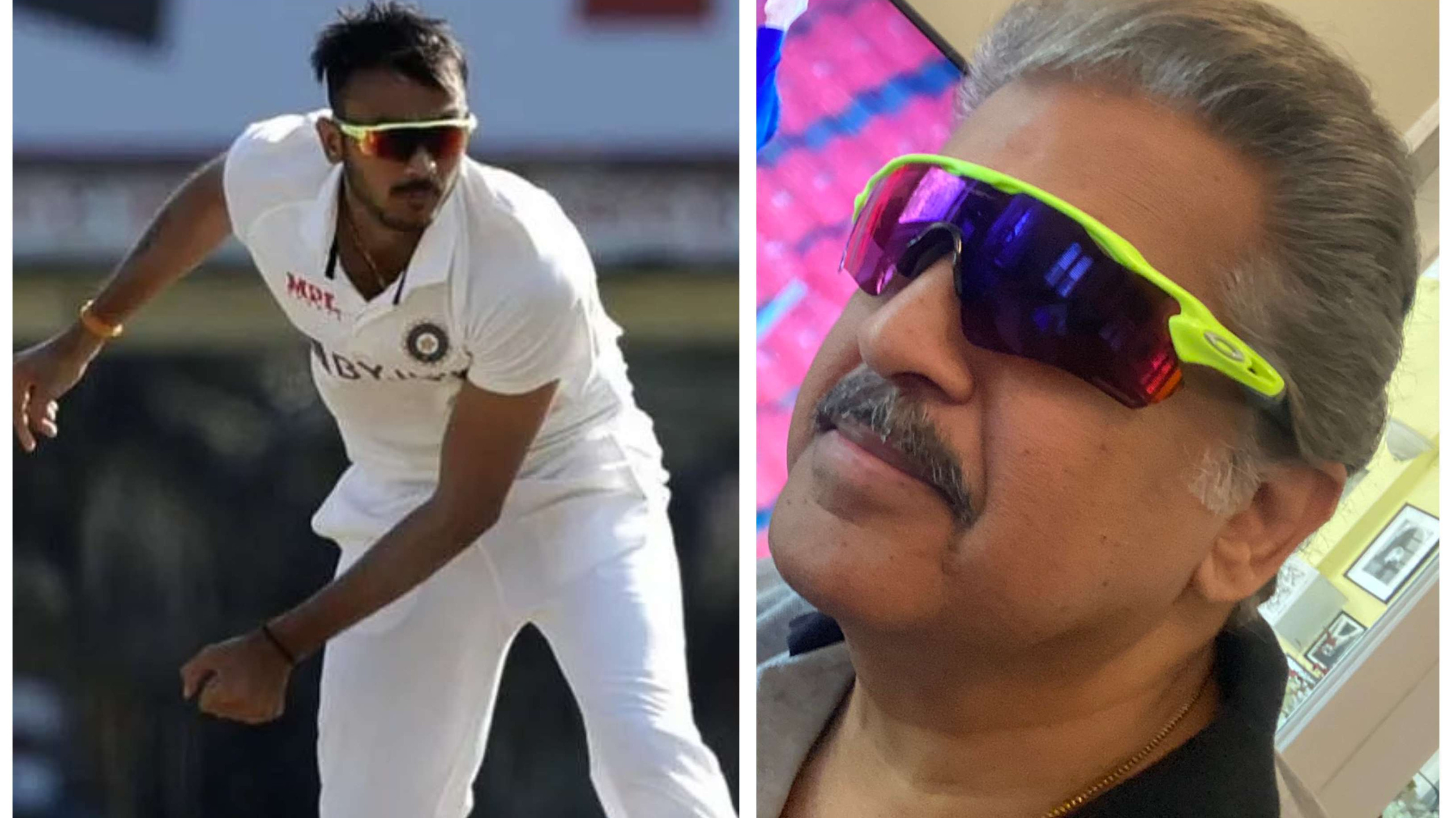 IND v ENG 2021: Akshar Patel reacts to Anand Mahindra donning 'Axar Shades' after India's T20I series win