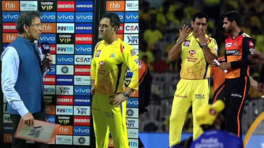 IPL 2019: WATCH- Dhoni gets cheeky after Bhogle asked the secret of CSK's success