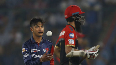 IPL 2018: Sandeep Lamicchane happy with his debut for Delhi against RCB