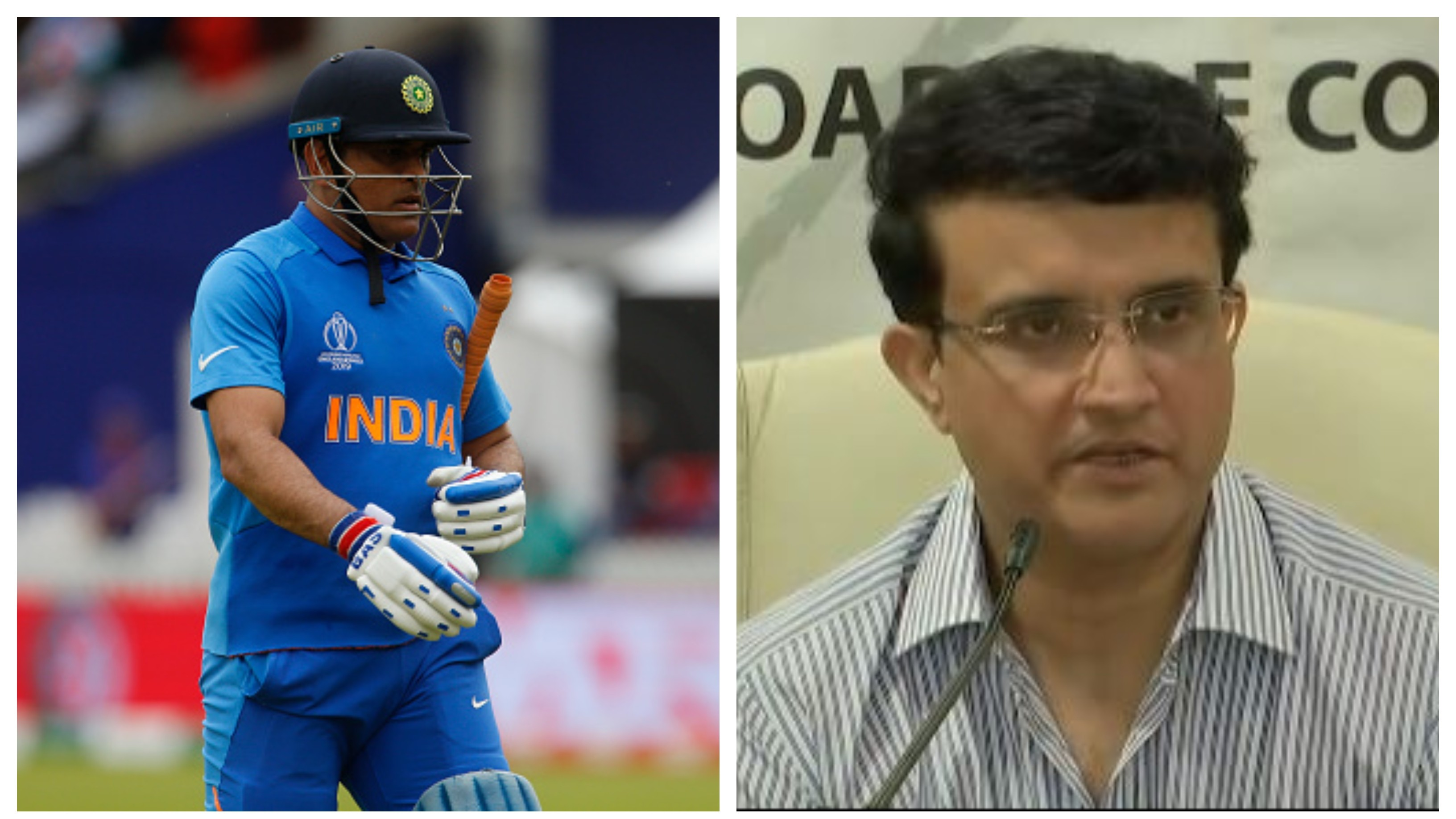 Ganguly avoids query over MS Dhoni's omission from central contract list