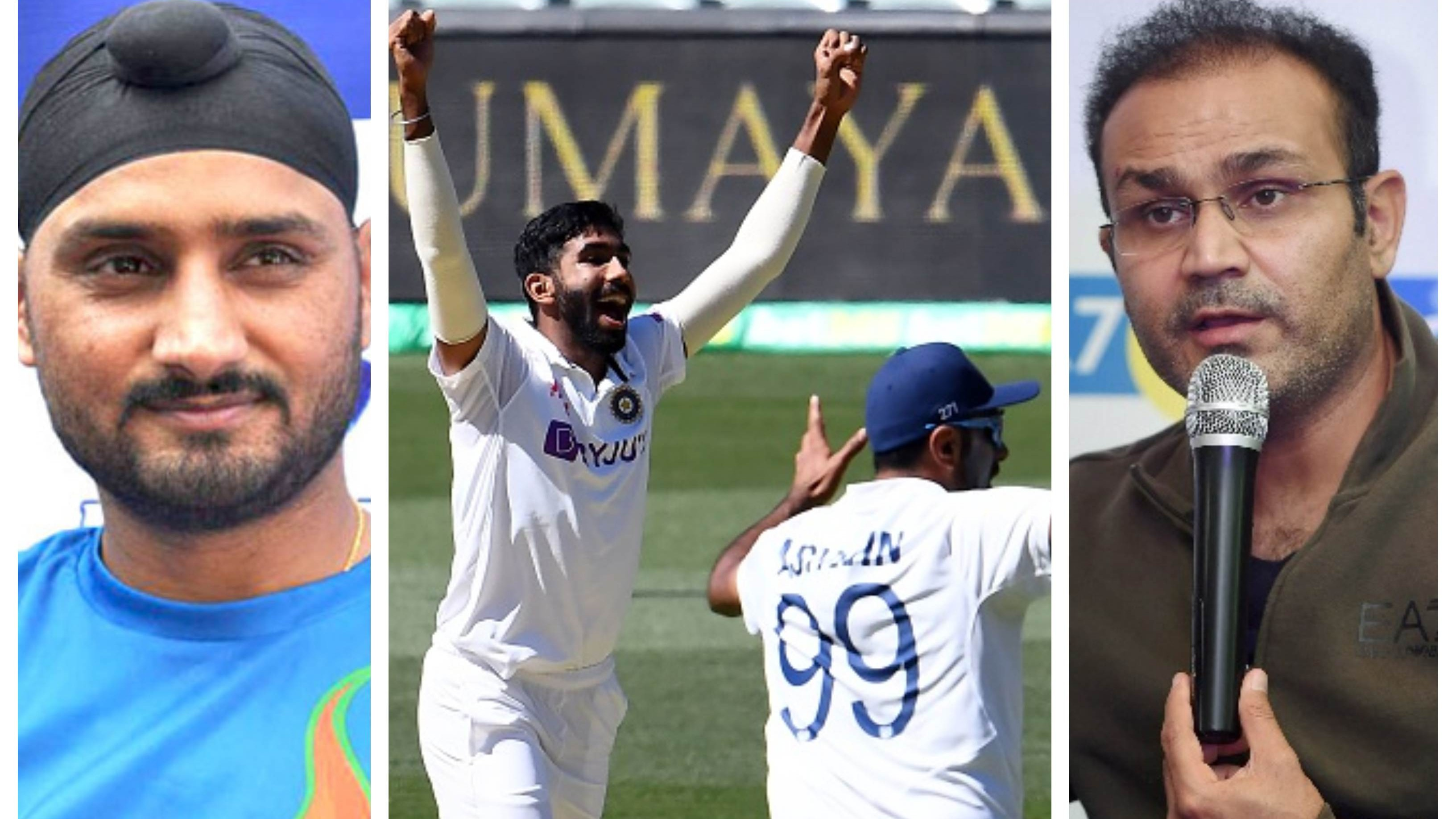 AUS v IND 2020-21: Cricket fraternity reacts as bowlers put India in a commanding position on Day 1 at MCG