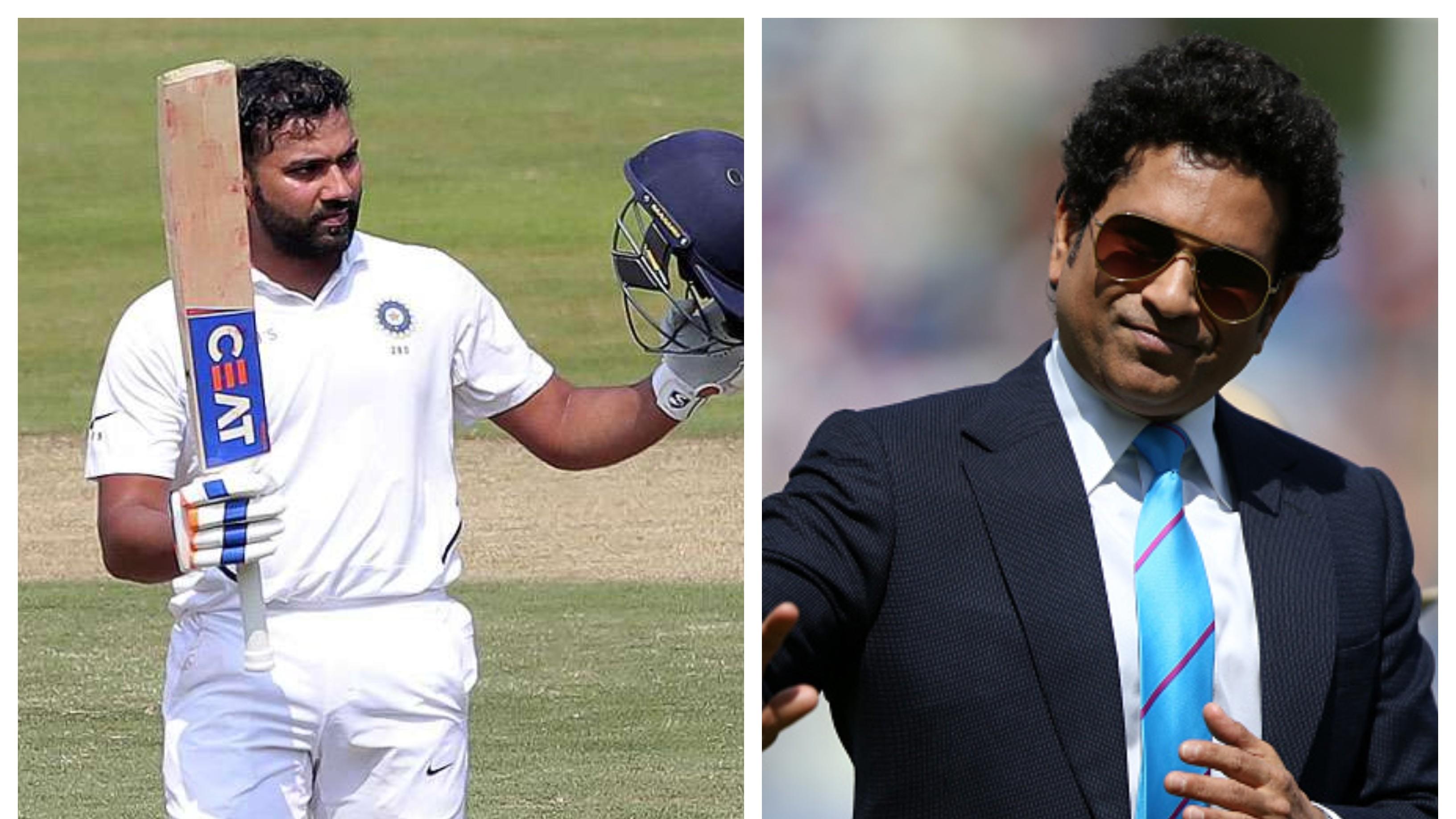 IND v SA 2019: Sachin Tendulkar heaps praise on Rohit Sharma after Visakhapatnam Test ton
