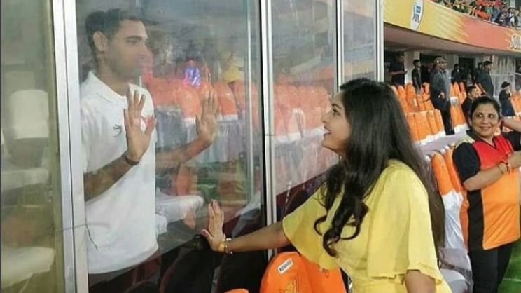 IPL 2018: Bhuvneshwar Kumar's better half  Nupur Nagar shares some secrets of the  Indian pacer