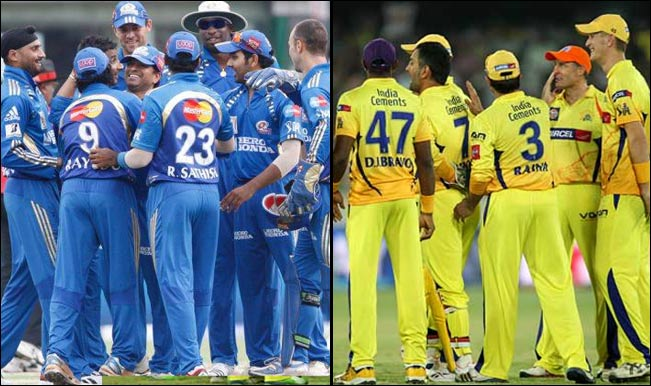 Mumbai Indians will take on Chennai Super Kings in the first match | Twitter
