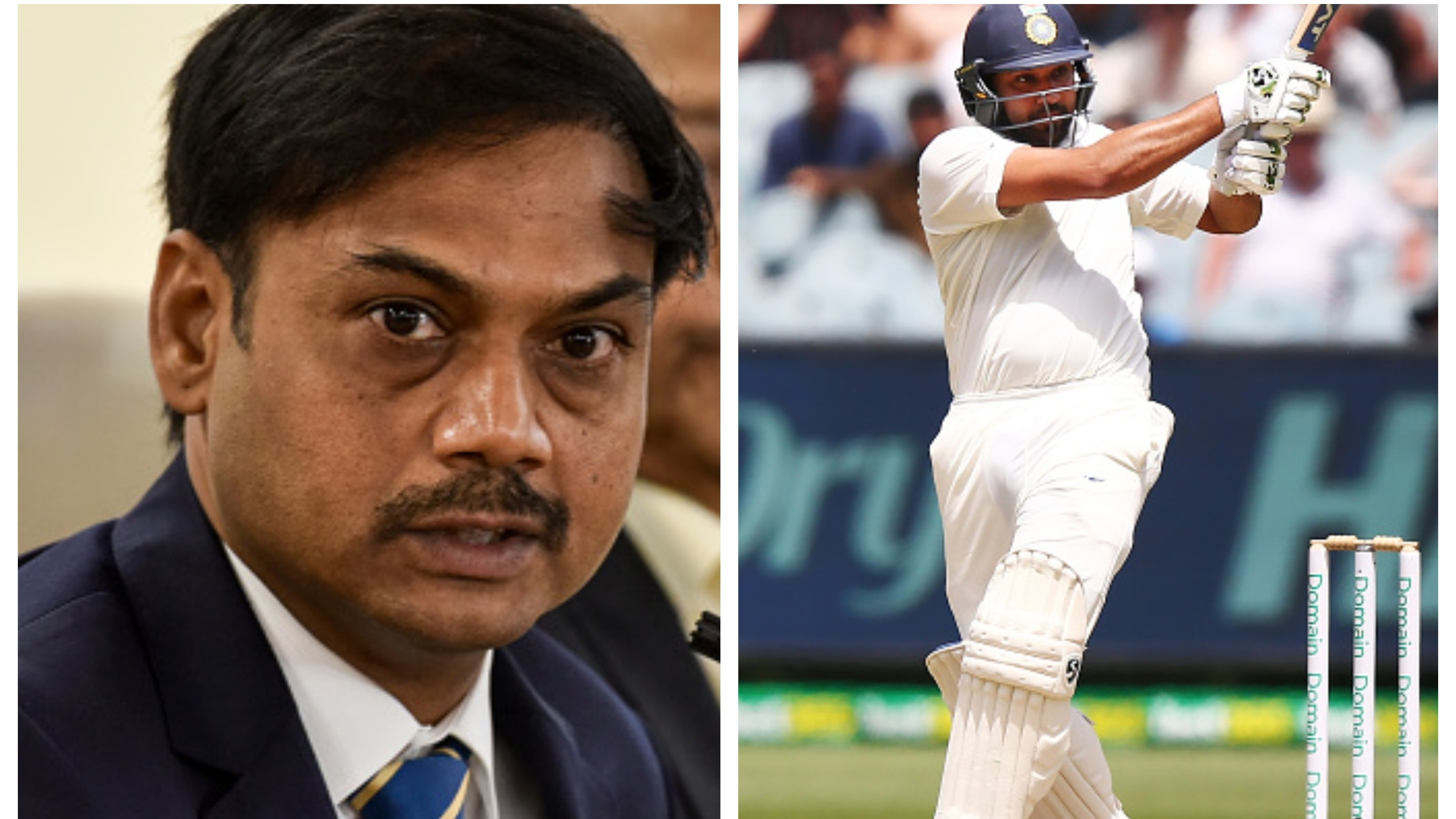 MSK Prasad hints at the prospect of Rohit Sharma becoming Test opener