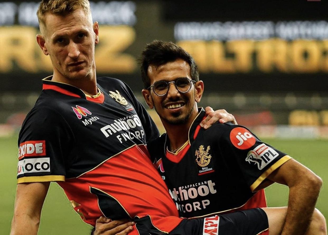 Chris Morris and Chahal hailed AB de Villiers' innings againsr RR