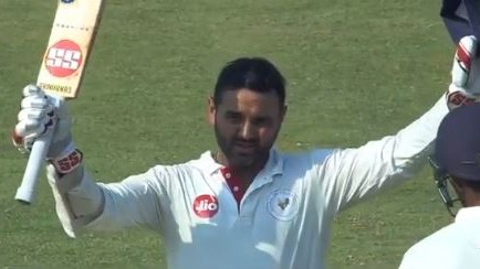 Ranji Trophy: WATCH-  Parthiv Patel smashes a ton; reaches 11,000-run mark in FC cricket