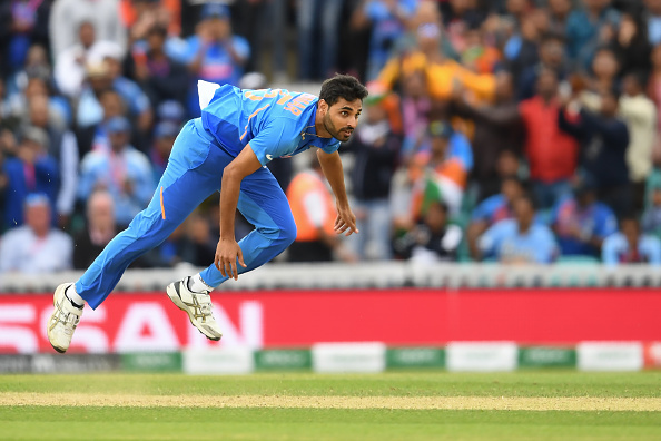 Bhuvneshwar Kumar picked 3/50 | Getty