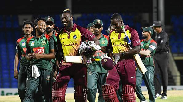 WI vs BAN 2018: We missed someone like Andre Russell, says Shakib after  first T20I loss