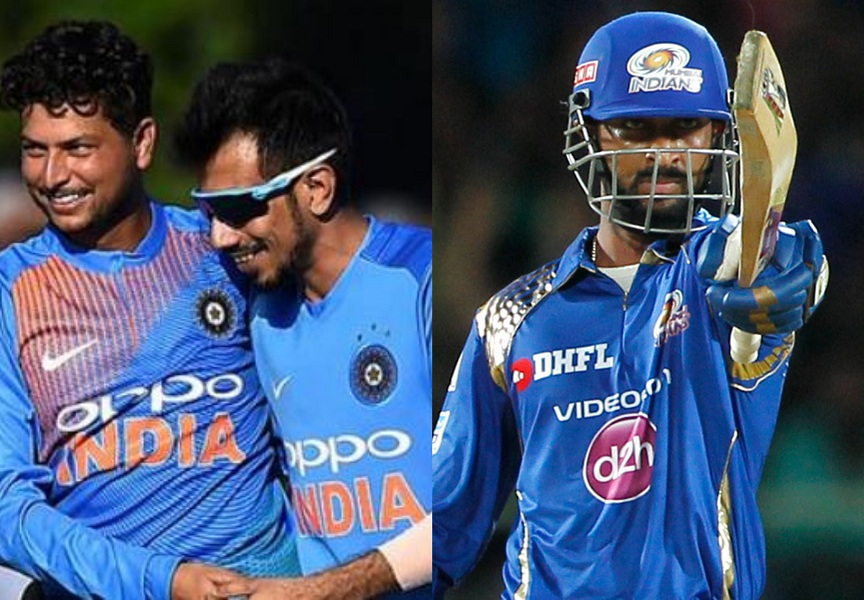 Kuldeep Yadav, Yuzvendra Chahal and Krunal Pandya might be a handful for the Windies | Getty/AFP