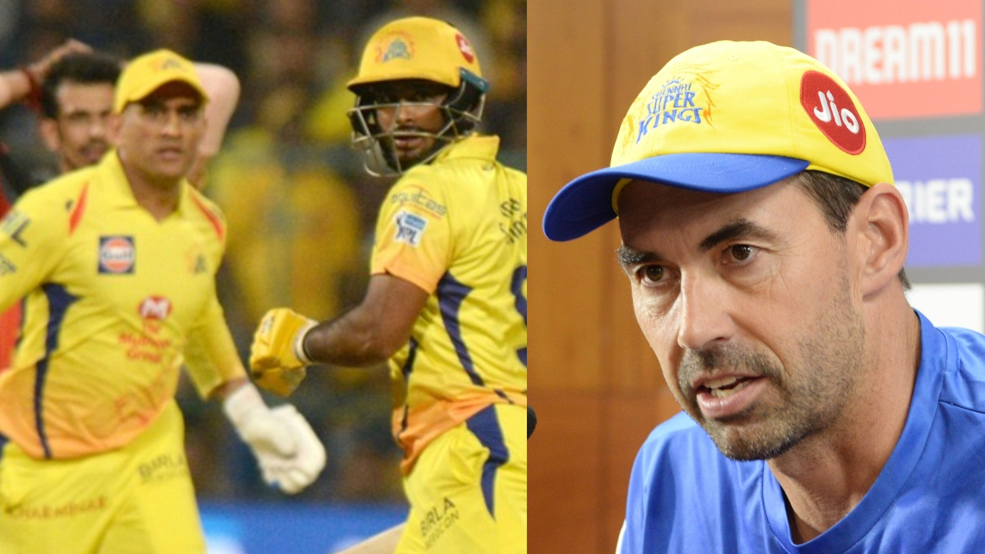 IPL 2019: Stephen Fleming worried with CSK's over-dependency on MS Dhoni and Ambati Rayudu