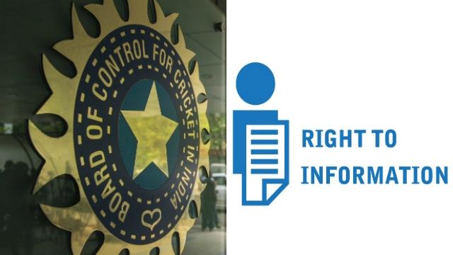 बीसीसीआई को सुचना के अधिकार (RTI) के दायरे में लाने की सिफारिश