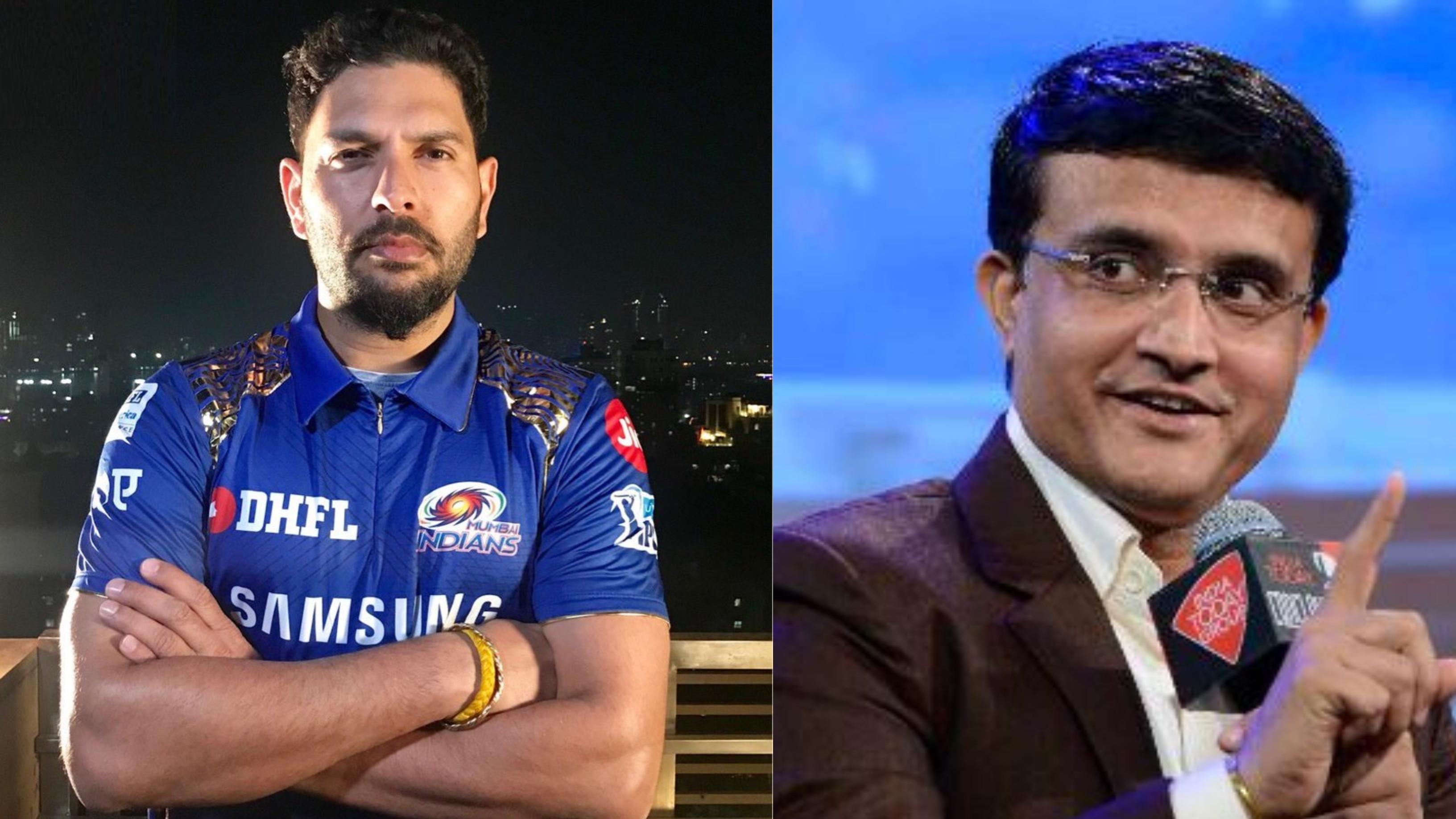 IPL 2019: Sourav Ganguly reacts on Yuvraj Singh joining Mumbai Indians for next season